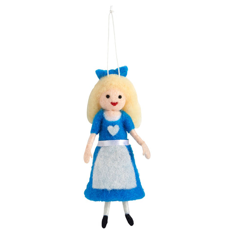 Hanging Decoration - Felt - Alice in Wonderland