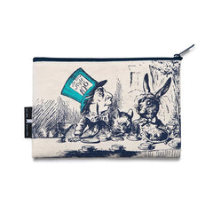 Pouch / Zip Up / Make Up Bag / Pencil Case - Alice In Wonderland