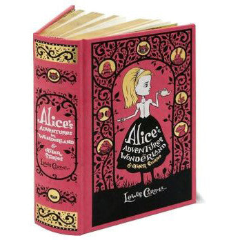 Alice's Adventures in Wonderland - Leatherbound-Book-Book Lover Gifts