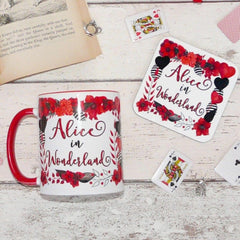 Mug & Coaster Gift Set - Alice in Wonderland-Mug-Book Lover Gifts