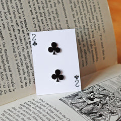 Earrings - Alice in Wonderland - Playing Cards