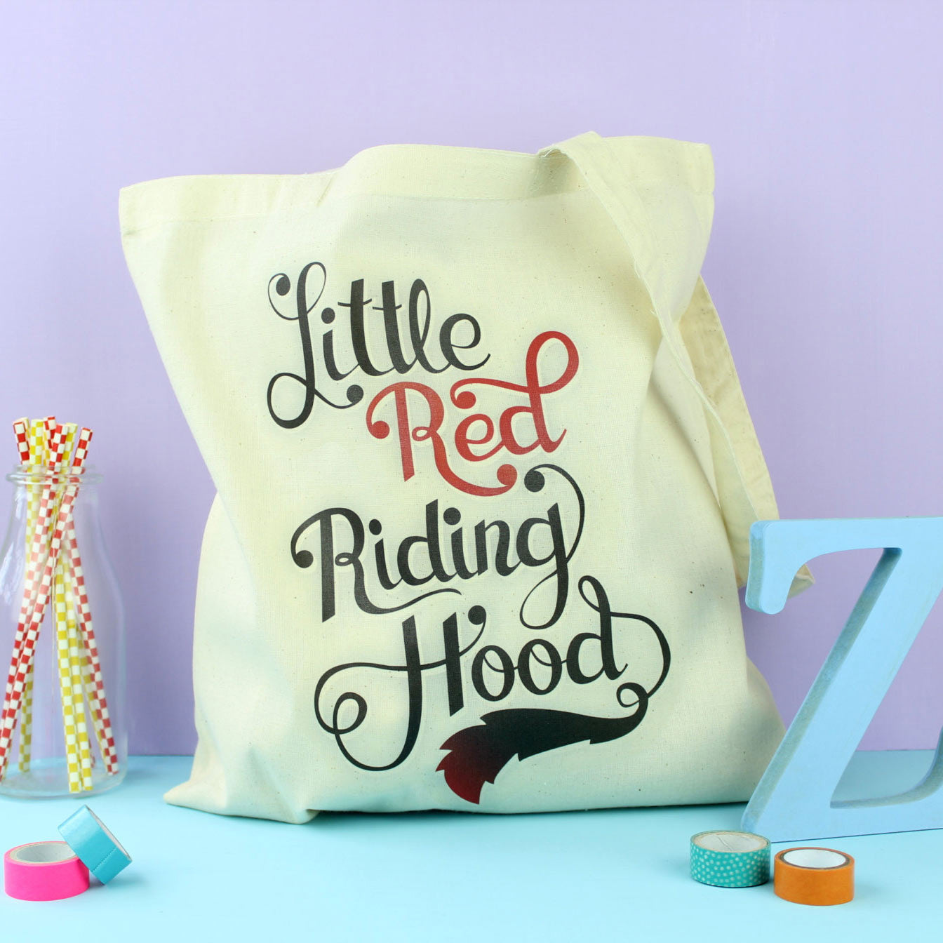 Tote Bag - Little Red Riding Hood - Fairytale