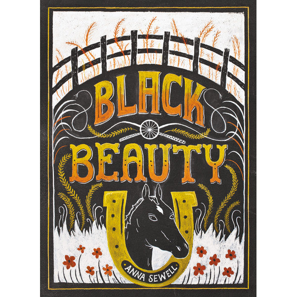 Black Beauty - Anna Sewell - Puffin Chalk Edition-Book-Book Lover Gifts