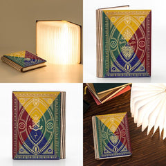 Book Cover Light / Lamp - Book of Spells - Harry Potter Inspired