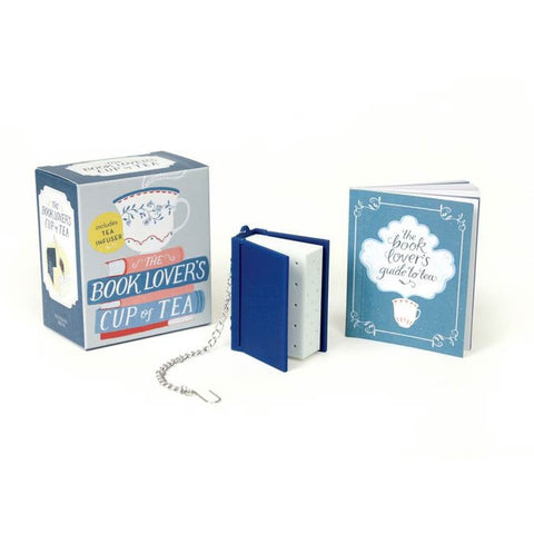 Gift Set - The Book Lover's Cup of Tea & Tea Infuser-Game-Book Lover Gifts