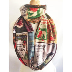 Scarf - Book Print - Classic Children's Stories Covers