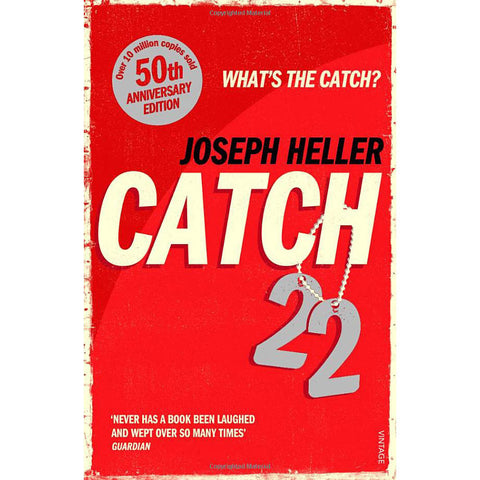 Catch-22 - Joseph Heller - 50th Anniversary Edition-Book-Book Lover Gifts