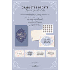 Literary Stationery Set - Charlotte Bronte