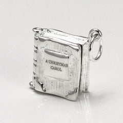 Book Charm Locket / Pendant - Silver - Choose Your Own!-Jewellery-Book Lover Gifts