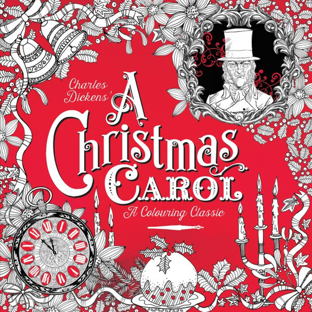 Colouring Classic Book - A Christmas Carol - Charles Dickens-Book-Book Lover Gifts