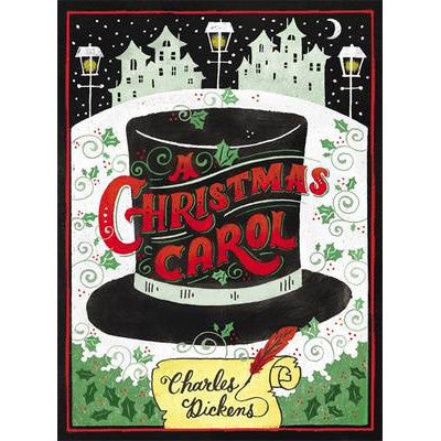 A Christmas Carol - Charles Dickens - Puffin Chalk Edition-Book-Book Lover Gifts