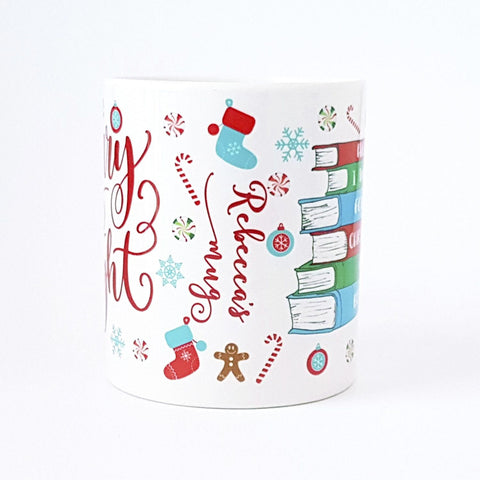 Mug - All I Want For Christmas Is... Books! Personalised