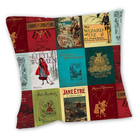 Cushion - Classic Vintage Book Covers