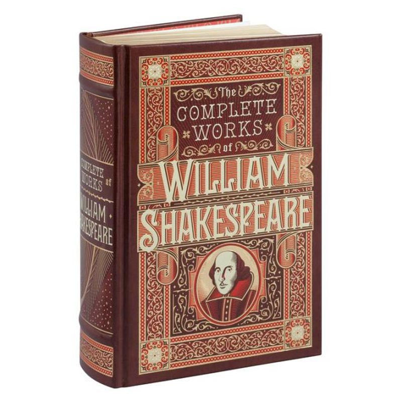 Complete Works of William Shakespeare - Leatherbound-Book-Book Lover Gifts