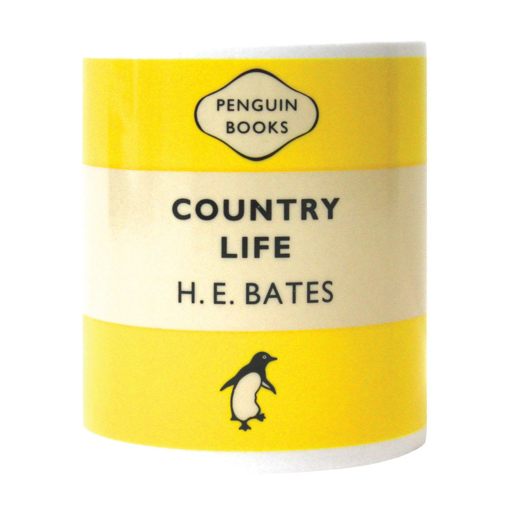 Mug - Penguin - Country Life - H. E. Bates-Mug-Book Lover Gifts
