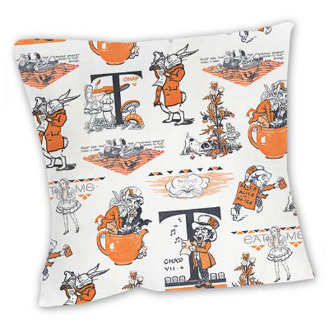Cushion - Vintage - Alice in Wonderland