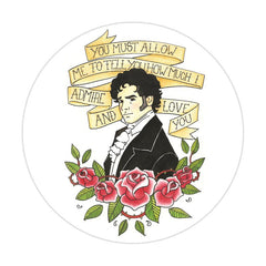 Pocket Mirror - Jane Austen - Mr Darcy Proposal-Gifts-Book Lover Gifts