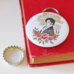 Bottle Opener / Keyring - Mr Darcy Proposal-Gifts-Book Lover Gifts