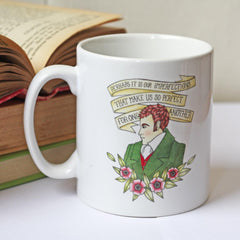 Mug - Jane Austen - Mr Darcy & Emma Quotations