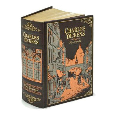 Charles Dickens: Five Novels - Leatherbound-Book-Book Lover Gifts