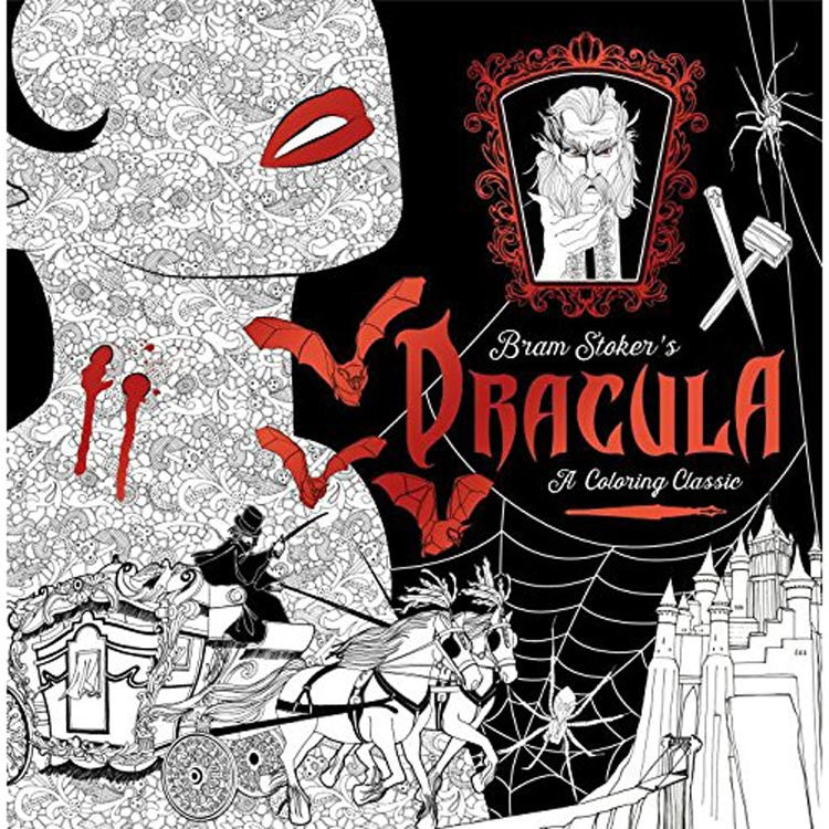 Colouring Classic Book - Dracula - Stoker