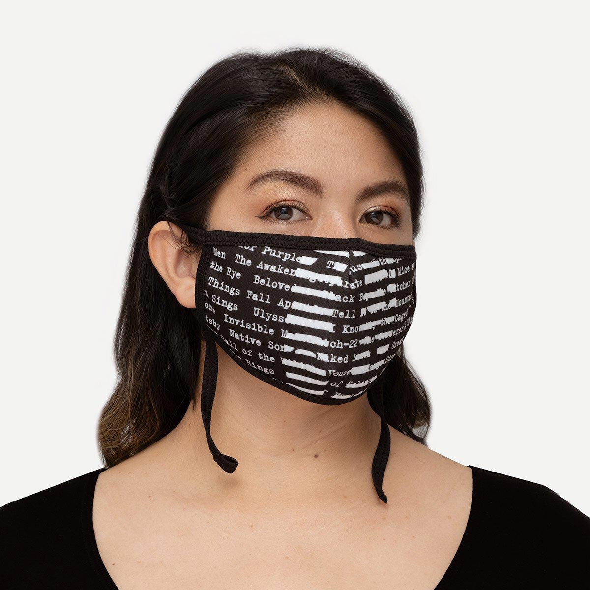 Face Mask - Adult - Adjustable - Banned Books