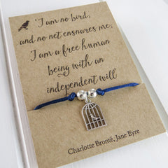 Friendship Bracelet - Birdcage - Jane Eyre