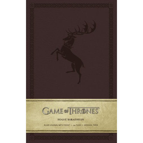 Journal - Game of Thrones - House of Baratheon