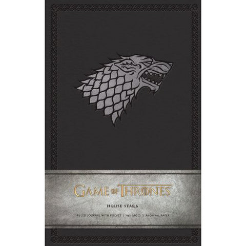 Journal - Game of Thrones - House of Stark-Stationery-Book Lover Gifts