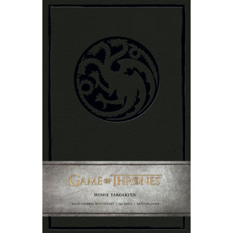 Journal - Game of Thrones - House of Targaryen-Stationery-Book Lover Gifts