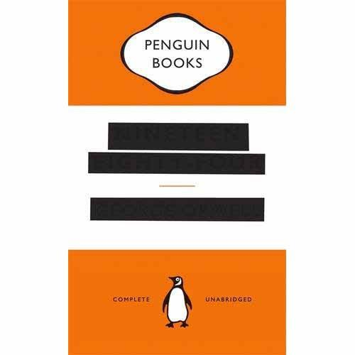 Nineteen Eighty-Four 1984 - George Orwell - 'Censored' Edition-Book-Book Lover Gifts
