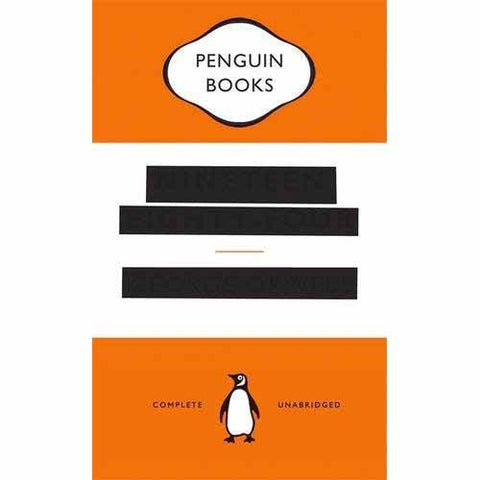 Nineteen Eighty-Four 1984 - George Orwell - 'Censored' Edition