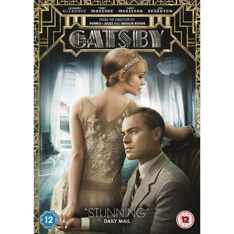 DVD - The Great Gatsby - Leonardo DiCaprio - 2013-DVD-Book Lover Gifts