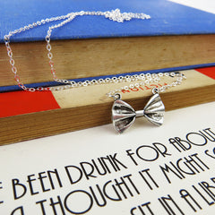 Necklace - Bow Tie - The Great Gatsby