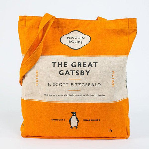 Book Bag - Great Gatsby - Penguin-Bag-Book Lover Gifts