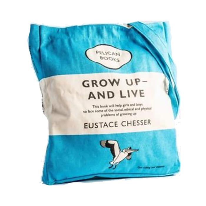 Book Bag - Grow Up and Live - Penguin