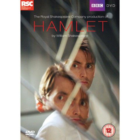 DVD - Hamlet - David Tennant - BBC - 2009-DVD-Book Lover Gifts