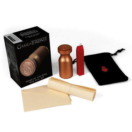 Wax Seal Kit - Hand of the King - Game of Thrones-Game-Book Lover Gifts