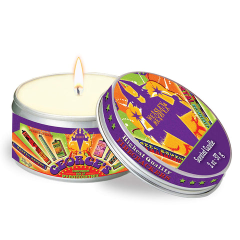 Candle - Harry Potter Tin - Weasley's Wizard Wheezes - Cinnamon