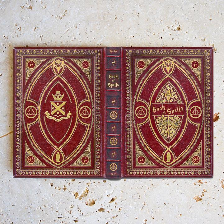 photo about Harry Potter Printable Book Covers named Guide Address - Kindle / Pill / eReader - Ebook of Spells