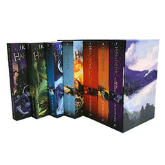 Harry Potter Box Set: the Complete Collection - J K Rowling-Book-Book Lover Gifts