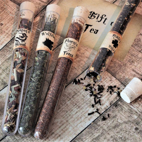 Loose Leaf Tea - Harry Potter Inspired Test Tubes - Potions