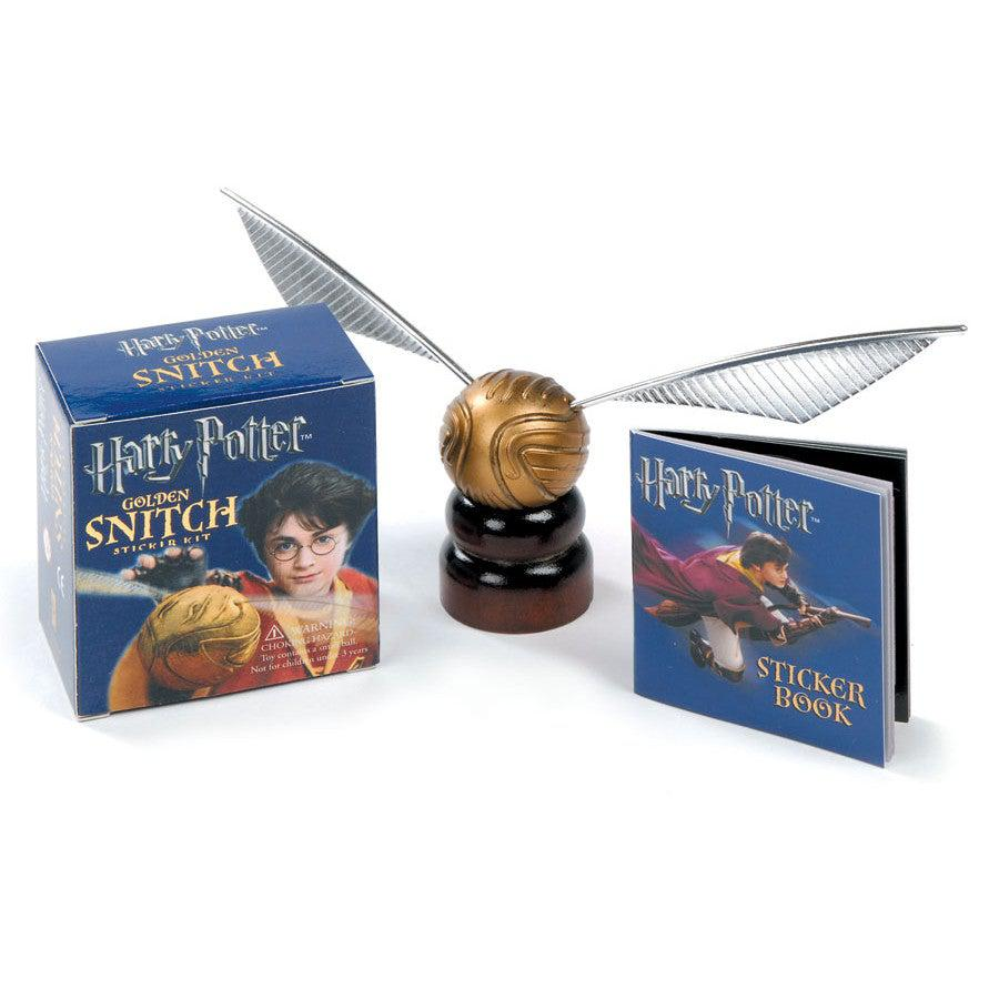 Golden Snitch - Harry Potter Sticker Kit-Game-Book Lover Gifts