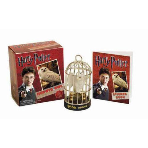 Hedwig The Owl - Harry Potter Mini Sticker Kit-Game-Book Lover Gifts