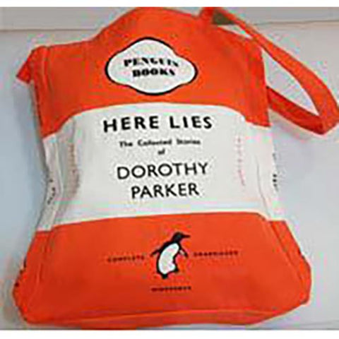 Book Bag - Here Lies... Dorothy Parker - Penguin-Bag-Book Lover Gifts