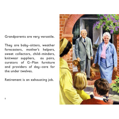 How it Works: The Grandparent - Ladybird Book-Book-Book Lover Gifts