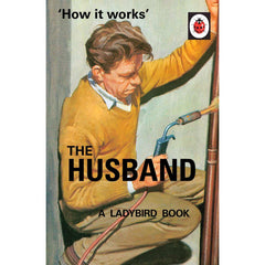 How it Works: The Husband - Ladybird Book-Book-Book Lover Gifts