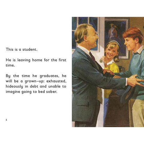 How it Works: The Student - Ladybird Book-Book-Book Lover Gifts