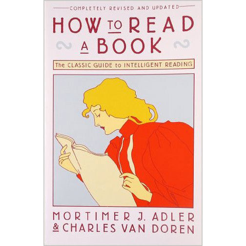How to Read a Book - Mortimer J. Adler & Charles Van Doren-Book-Book Lover Gifts