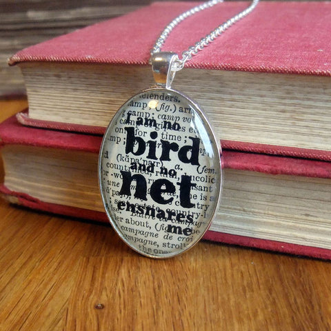 Necklace - I Am No Bird - Jane Eyre - Bronte